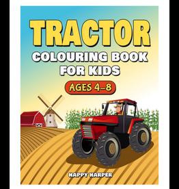 Happy Harper Colouring Book for Kids, Tractors