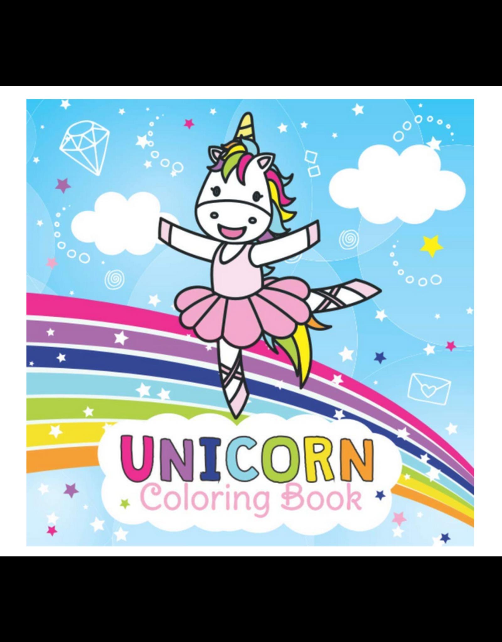 Jennifer Little Colouring Book for Kids, Unicorns