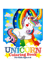 Two Hoots Coloring Colouring Book for Kids, Unicorns