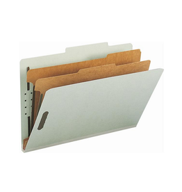 Smead Folder, Classification Smead Legal Size, Grey 10/box