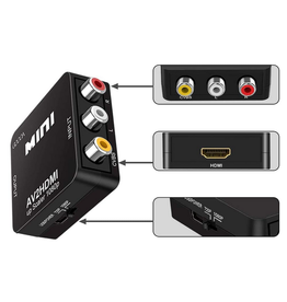 GOOOA Mini RCA to HDMI Converter