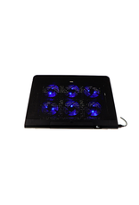 Xtech Xtech Gaming Laptop Cooling Pad Kyla Blue LED Fans 2 USB