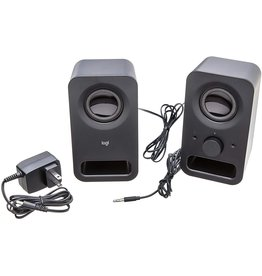 Logitech Logitech - Z150 PC Speakers - Black