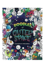 Julia Rivers Colouring Book For Adults, Doodles in Outer Space