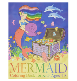 Two Hoots Coloring Colouring Book for Kids, Mermaids