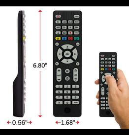 GE Remote Control - GE Universal IR Remote, Black