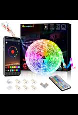 Romwish Romwish RGB Colored LED Light Strip Kit 16.4ft