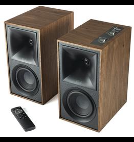 Klipsch KLIPSCH The Fives Walnut Powered speaker system with HDMI and ARC