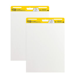 3M EASEL PAD-POST-IT 25''X30'' WHITE 30 SHEETS