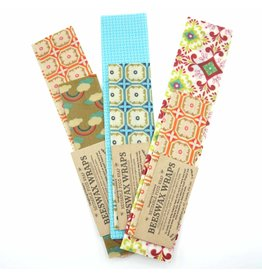 Laughing Lichen Laughing Lichen - Beeswax Food Wrap 2 per bundle