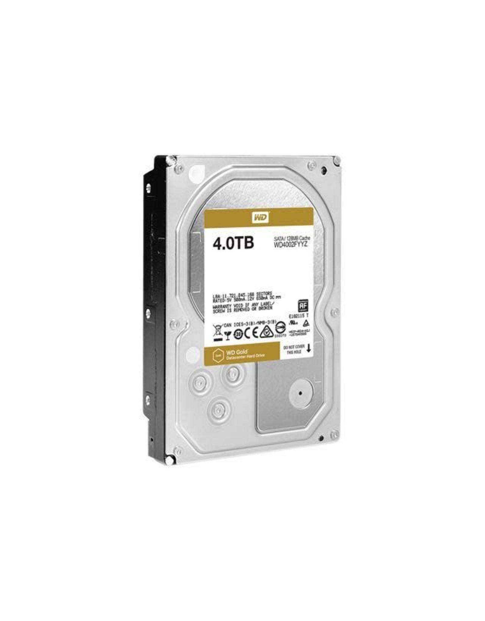 Western Digital Hard Drive - Western Digital GOLD 4TB SATA 6Gb/s 256MB