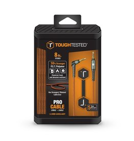 ToughTested Tough Tested Auxillary 3.5mm Cable Armor Weave 8ft
