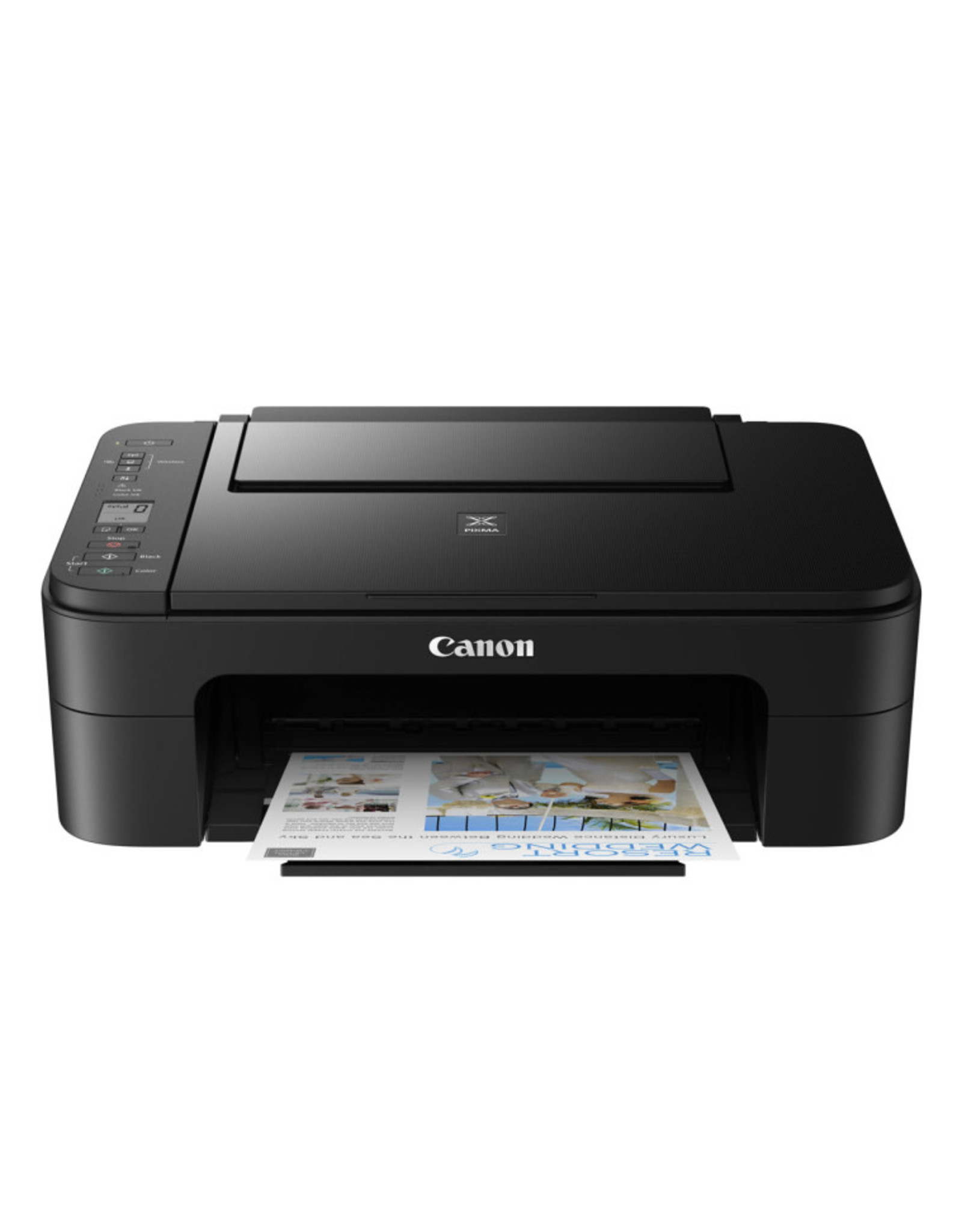 Canon Printer - Canon PIXMA TS3320 Black Wireless Inkjet All-in-One