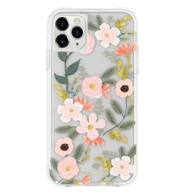 Rifle Paper iPhone 12/12 Pro Rifle Paper Pink/Green Wildflowers Case