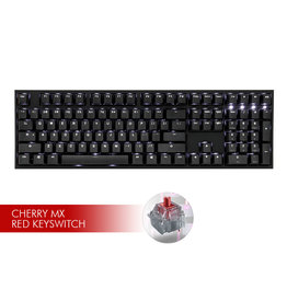 Ducky Ducky One2 White LED Keyboard - CMX Red Switch