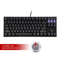 Ducky Ducky One2 TKL White LED Keyboard - CMX Red Switch