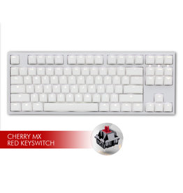 Ducky Ducky One2 White LED TKL Keyboard - MX Red Switch