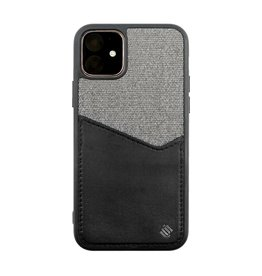 Uunique iPhone 11/XR Uunique Black/Grey Reflect Pocket Case