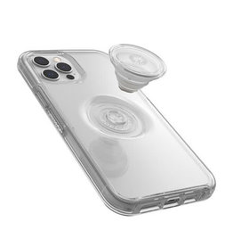 OtterBox OtterBox iPhone 12 Pro Max & PopSocket Symmetry Off White