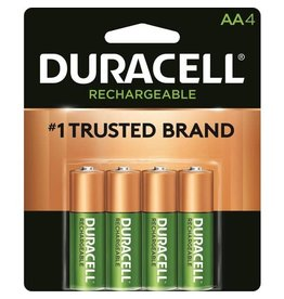 Duracell Duracell AA Rechargeable Staycharged Batteries 4 Pack
