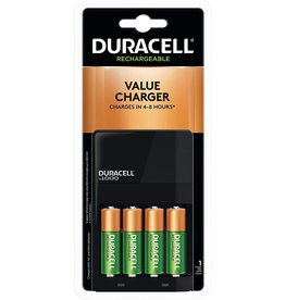Duracell Duracell Battery Charger Ion Speed 1000 with 4 AA Batteries