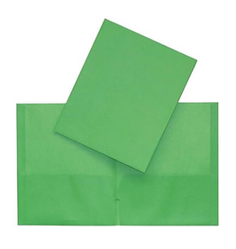 Hilroy Hilroy Twin Pocket Portfolio Letter-Size, Green