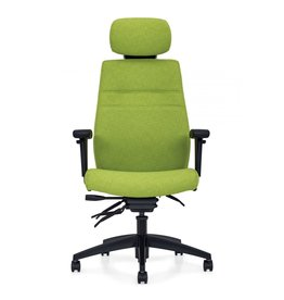 Offices to Go OTG Chair - M-Task Executive Back Multi-Tilter, Viola