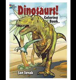 Jan Sovak Colouring Book, Dinosaurs!