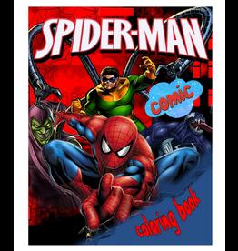 John Mitchell Colouring Book, Spiderman