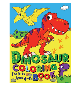 Silly Bear Colouring Book For Kids, Dinosaurs