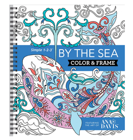 New Seasons Colouring Book for Adults, Colour & Frame By The Sea