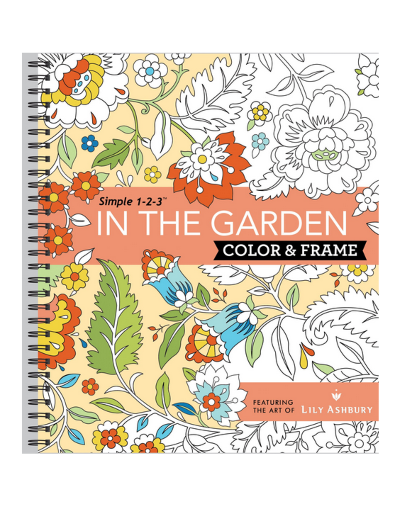 New Seasons Colouring Book for Adults, Colour & Frame In The Garden