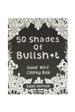 Alex Fleming Colouring Book for Adults, 50 Shades of Bullsh*t