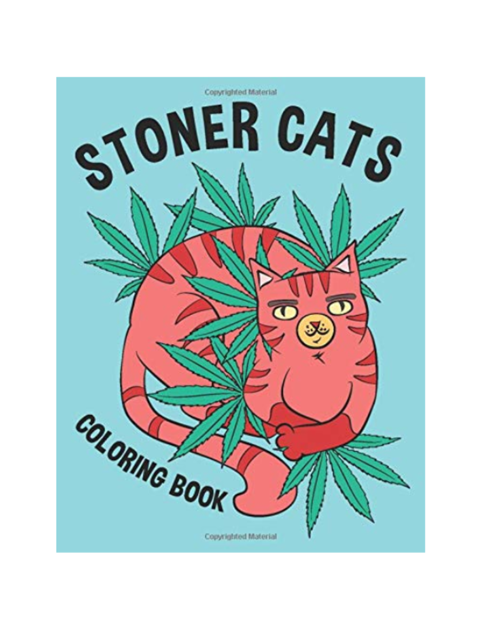 High Press Colouring Book for Adults, Stoner Cats