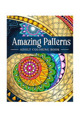 Coloring Book Kim Colouring Book for Adults, Amazing Patterns Mandala