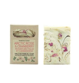 Laughing Lichen Laughing Lichen -  Arctic Rose & Cranberry Soap with Lavender