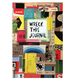 Keri Smith Wreck This Journal, Now in Colour