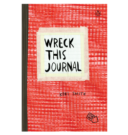 Keri Smith Wreck This Journal Expanded Edition, Red