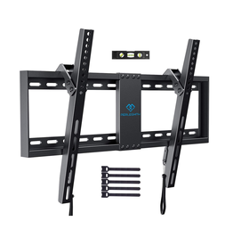 Perlesmith Wall Mount - PERLESMITH Tilt Low Profile for 32-70 inch up to 132lb
