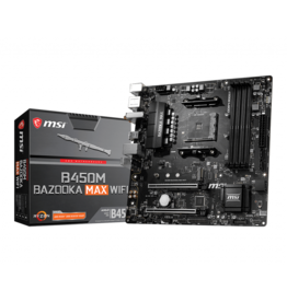 MSI MSI B450M BAZOOKA MAX WIFI Motherboard