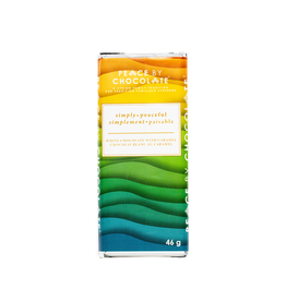 Peace by Chocolate Peace by Chocolate, Simply Peaceful White Chocolate With Caramel 46g