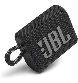JBL JBL GO 3 Portable Waterproof Bluetooth Speaker - Black