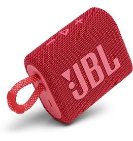 JBL JBL GO 3 Portable Waterproof Bluetooth Speaker - Red