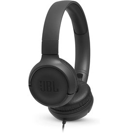 JBL JBL Tune 500 Wired On-Ear Headphones with One-Button Remote/Mic - Black