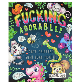 Heather Land Colouring Book for Adults, F*cking Adorable