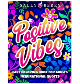 Sally Berry Colouring Book for Adults, Positive Vibes