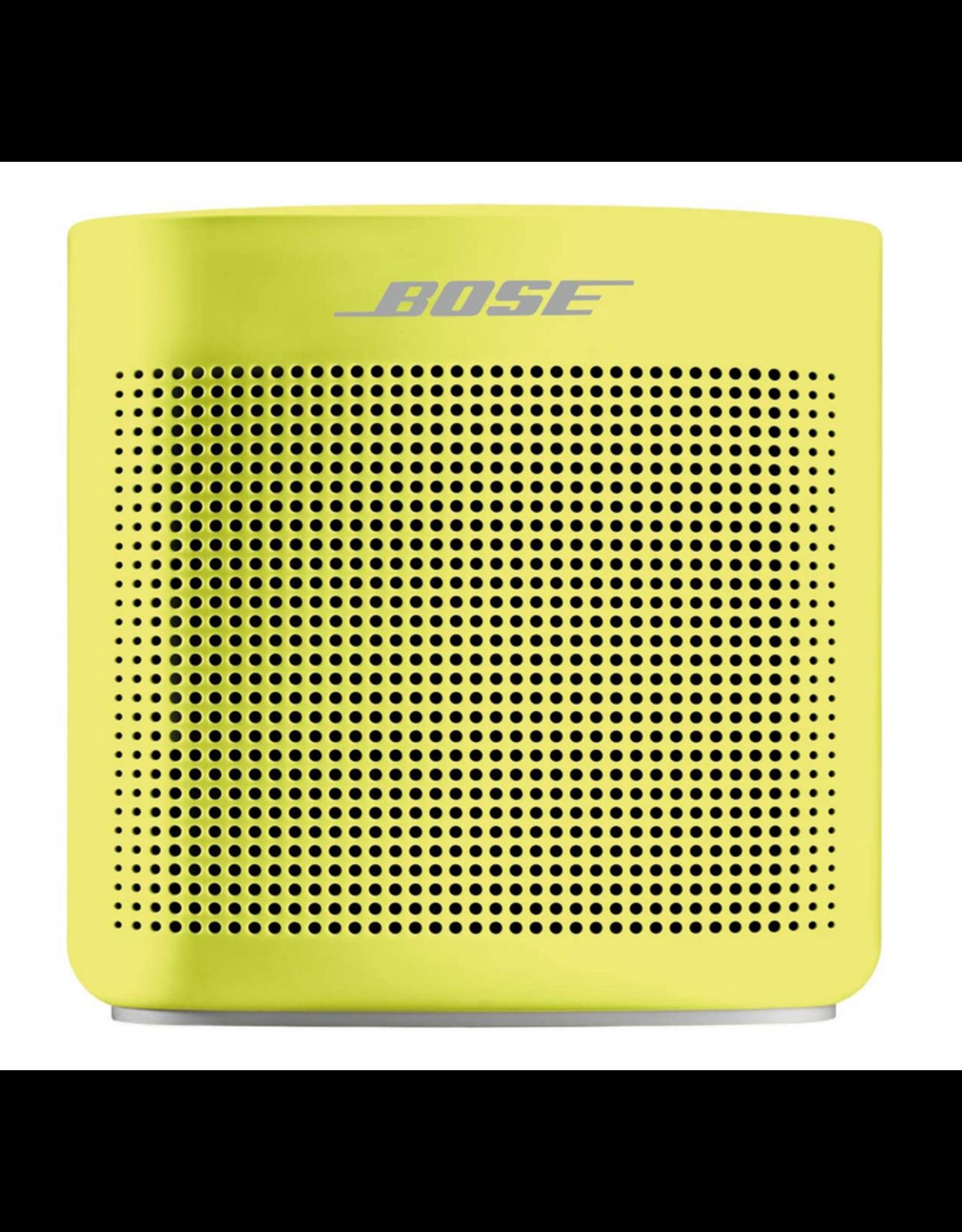 Bose Bose SoundLink Colour Water-Resistant Bluetooth Speaker II, Yellow Citron