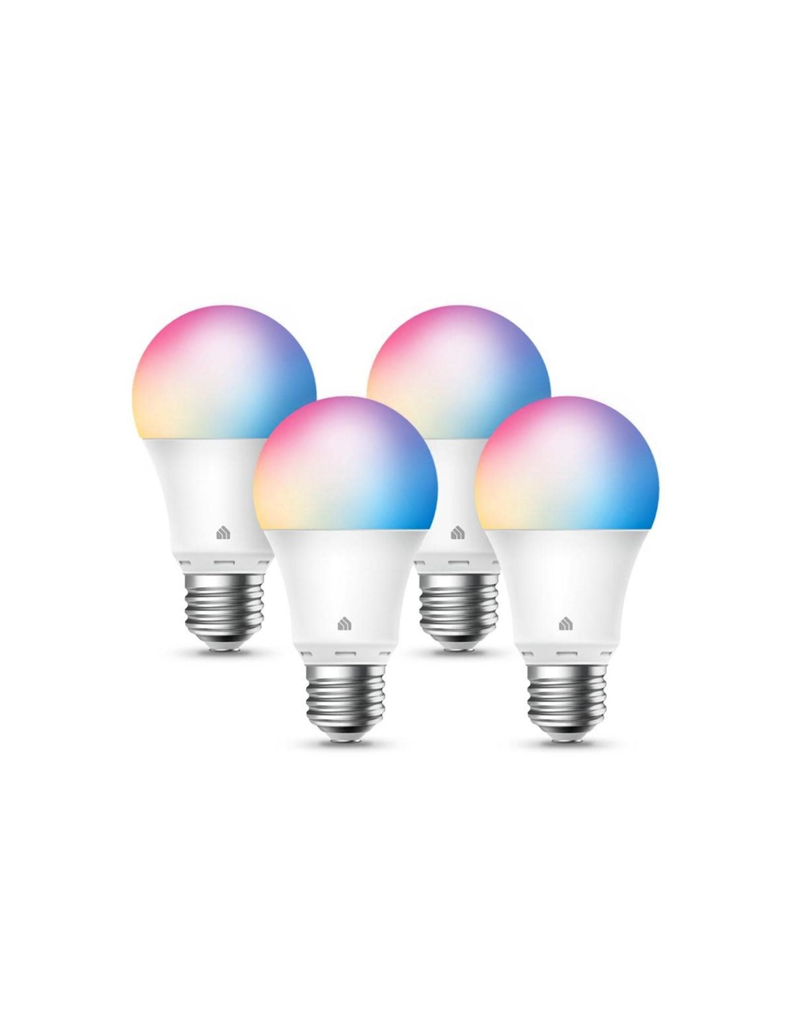TP Link TP-Link Kasa Smart Light Bulbs, Multicolour, Dimmable 4 Pack