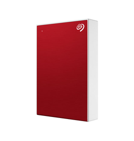 Seagate Seagate One Touch External Hard Drive, 5TB, USB 3.0, Red
