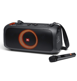 JBL JBL PartyBox Portable Bluetooth Party Speaker with Built-in Lights and Wireless Mic - Black